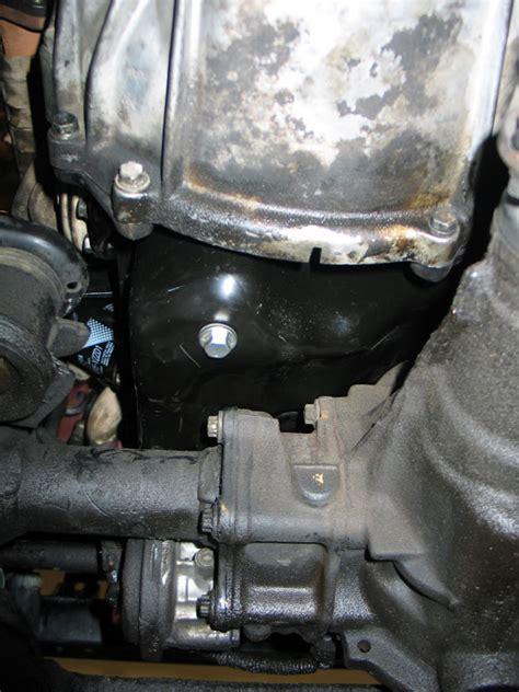 rear sump oil pan conversion kit   oil pan