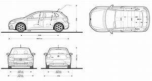 Dimension Polo 2018 : volkswagen polo 2018 blueprint download free blueprint for 3d modeling ~ Medecine-chirurgie-esthetiques.com Avis de Voitures