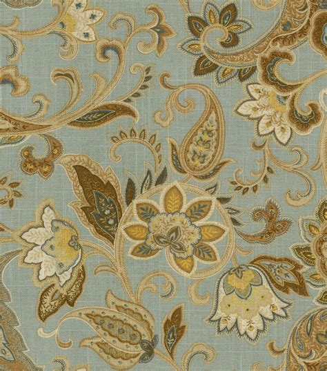 Blue Home Decor Fabric by Home Decor Print Fabric Swavelle Millcreek Bridgehton