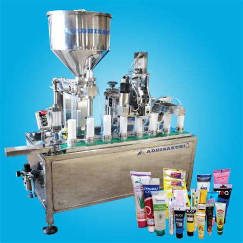 tube filling  sealing machine cream filling sealing machine oem manufacturer  chennai
