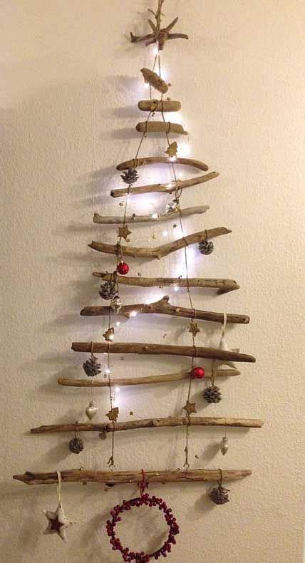 weihnachtsbaum aus schwemmholz diy treibholz deko zur weihnachtszeit diy treibholz