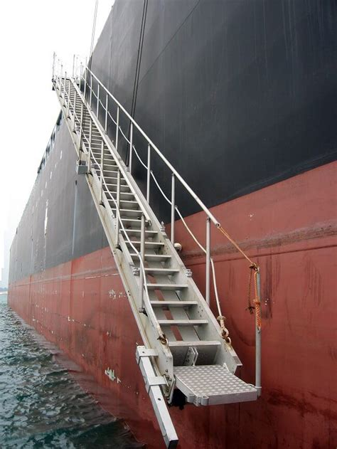 Ship Gangway by Gangway And Types Of Gangways
