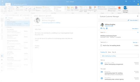 Office 365 Outlook Contacts by Microsoft Introduces Outlook Customer Manager Mspoweruser
