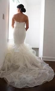 Vera wang lillian 3500 size 8 used wedding dresses for Vera wang lillian wedding dress