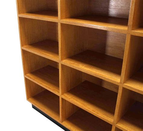 Nice Custom Solid Wood Shelving Unit Bookcase For Sale At