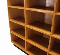 nice solid wood bookcases Nice Custom Solid Wood Shelving Unit Bookcase For Sale at 1stdibs