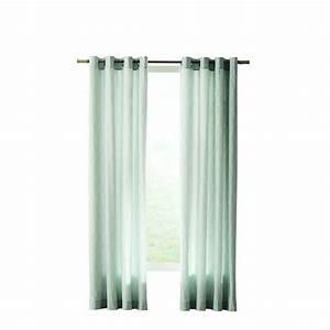 Home Decorators Collection Blue Modern Lattice Curtain ...