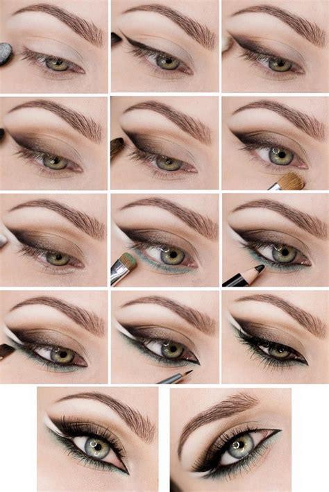 Как увеличить глаза с помощью макияжа стрелок теней подводки карандашом при нависшем веке. Пошаговая инструкция с фото