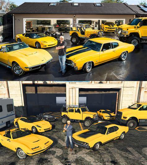 Recreation Of A Guy Fieri Pic Using Gta 5 Cars [x-post
