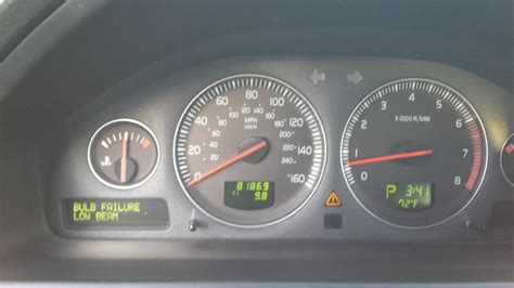 low beam bulb failure could be ballast volvo forums