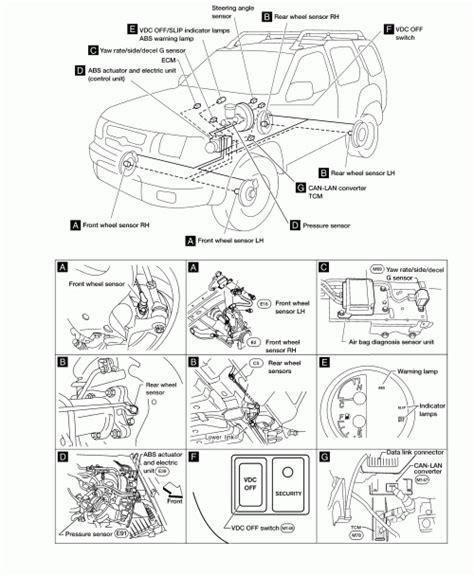 repair anti lock braking 2005 ford freestar free book repair manuals 2005 nissan xterra engine diagram automotive parts diagram images