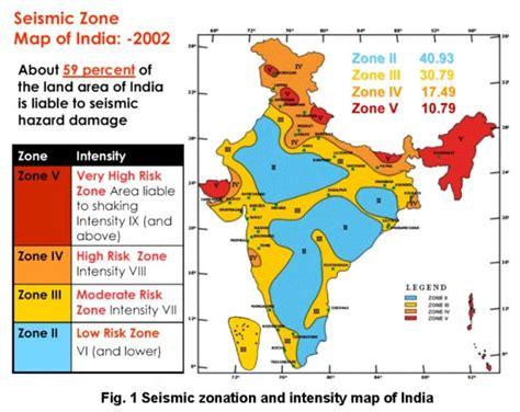 Sinking Borough Zoning Map by Guwahati Srinagar At Highest Earthquake Risk