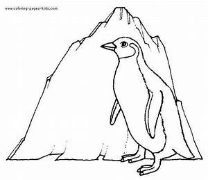 Emperor Penguin Coloring Pages For Kids