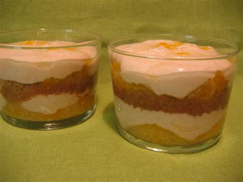 dessert a la clementine verrine 224 la cl 233 mentine et cr 232 me de marron recette