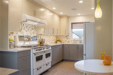linoleum floors for kitchen hosford abernethy midcentury kitchen portland by 7126