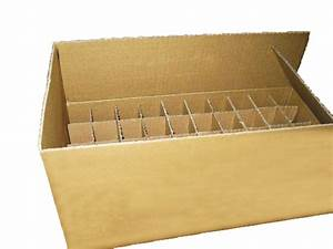 Economical Corrugated Box With Divider Insert Practical Carton Box With Paper Tray Buy