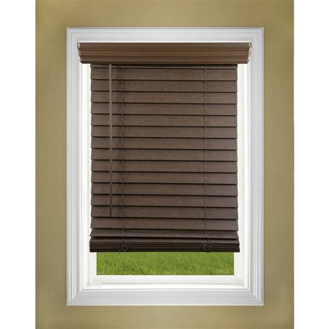 decor dress   window  wood blinds walmart