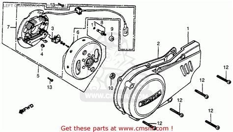 honda xr100 1983 usa parts lists car interior design