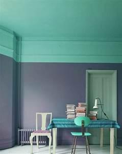 nos astuces en photos pour peindre une piece en deux couleurs With sol gris clair quelle couleur pour les murs 0 nos astuces en photos pour peindre une piace en deux
