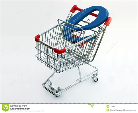 commerce shopping cart top view stock image image