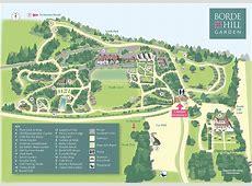 Garden Map Borde Hill Garden