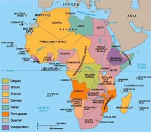 IMPERIALISM AND COLONISATION: SCRAMBLE FOR AFRICA ...