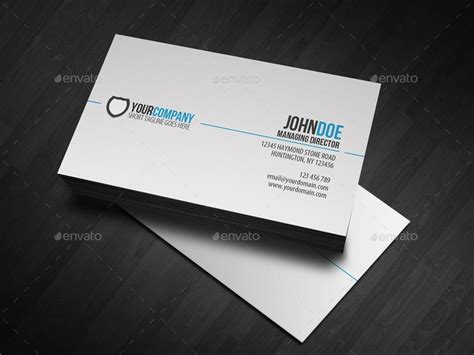 professional black out business card template 31 professional simple business cards templates for 2018