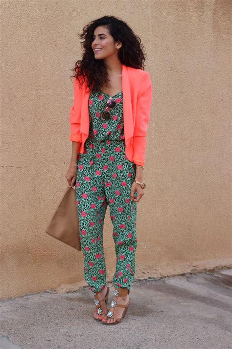 colorful jumpsuit colorful jumpsuit and blazer sazan