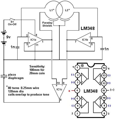 basic circuitry  metal detection kevini pinned