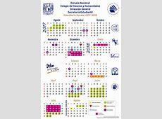 Calendario Portal Académico del CCH