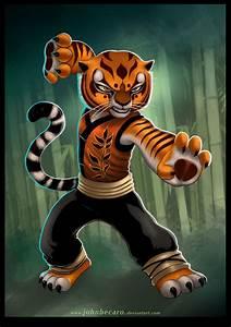 MASTER TIGRESS of KungFu Panda by johnbecaro on DeviantArt
