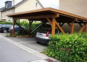 Carport Aus Rundstämmen : carport doppelcarport aus holz so einen carport aus holz ~ Articles-book.com Haus und Dekorationen