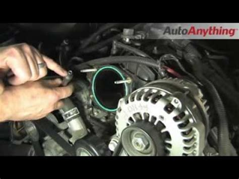airbag deployment 2010 dodge ram 1500 electronic valve timing install an airaid throttle body spacer on a chevy silverado autoanything how to youtube