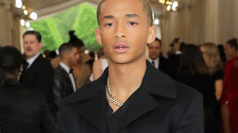 jaden smith    met gala  louis vuitton vogue