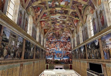 michel ange plafond chapelle sixtine carr 233 pluriel le pape autorise la location de la chapelle sixtine