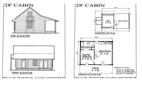 Small Log Cabin Homes Floor Plans Log Cabin Kits, Small