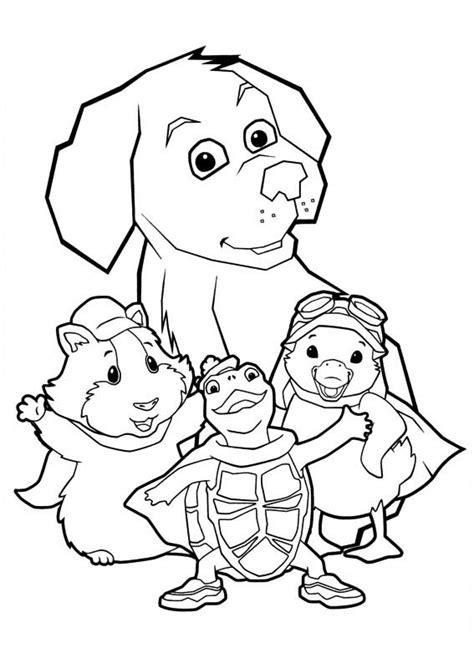 las mascotas maravilla  colorear  imprimir