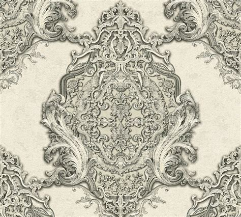 tapete barock grau tapete vlies barock klassisch cremewei 223 grau ap 34372 4