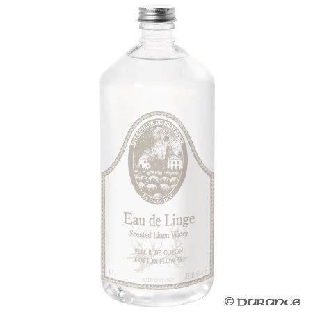 eau de linge parfum fleur de coton