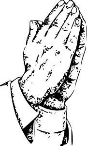praying hands clip art  clkercom vector clip art