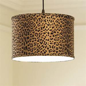 Drum pendant shade adapter plug in light apricot