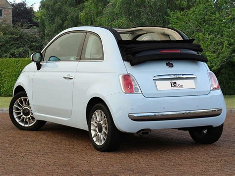 Fiat Lounge Convertible by Used 2010 Fiat 500c Lounge Convertible Rear Sensors Aux
