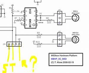 668 Midi Wire Diagram