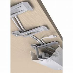 Rangement Cable Bureau : pince cables guide c bles lectrification ~ Premium-room.com Idées de Décoration