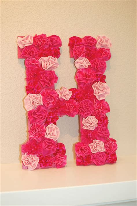 interesting diy letters decoration ideas