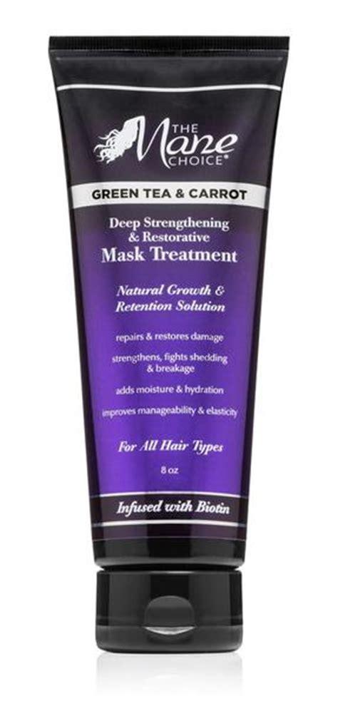 green tea carrot deep strengthening restorative mask