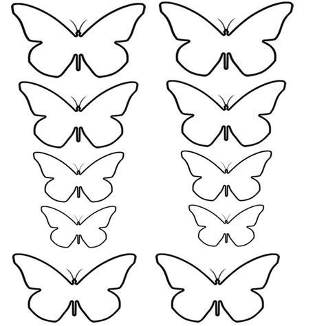 Plantillas Mariposas Para Imprimir Imagui Paredes