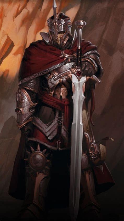 The legendary paladin, Kleef Kenric. | Fantasy character ...
