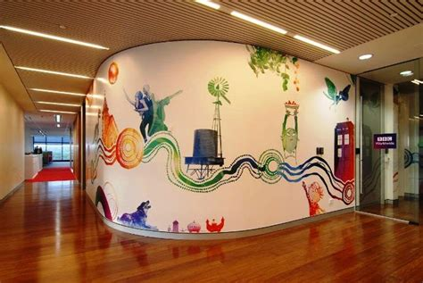 mural ideas wall painting ideas for office