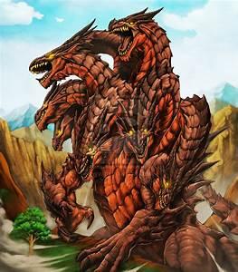 Ladon Dragon for Fenix TCG by Chaos-Draco on DeviantArt